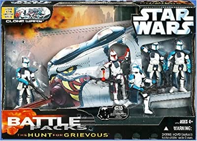 Star Wars Battle Pack: The Hunt for Grievous Action Figures