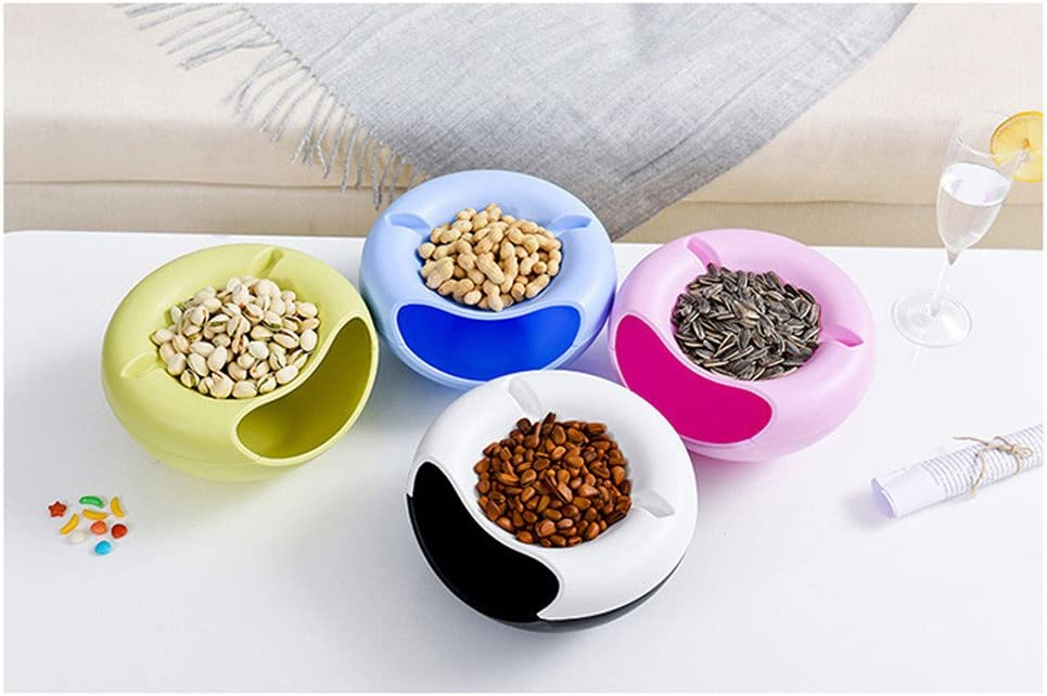 Blue Lavany Creative Bowl Shape Storage Container Perfect Seeds Nuts Dry Fruits,Good Xmas Festival Share Family