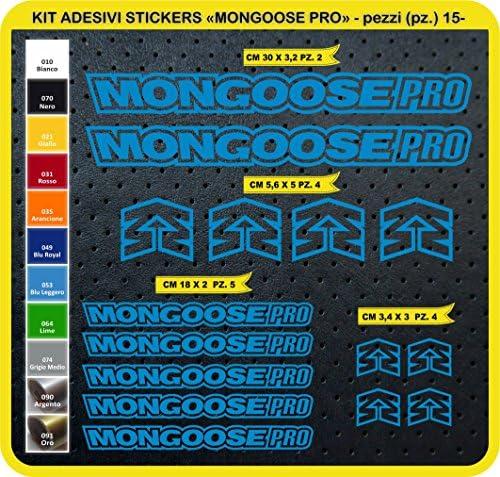 Kit Pegatinas Stickers Bicicleta Mongoose Pro -15 Piezas- Bike ...