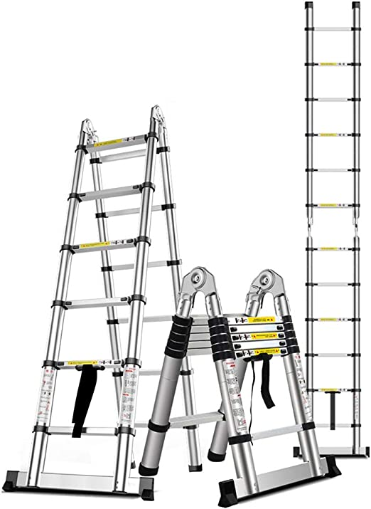 Folding ladder Escalera Plegable de Aluminio Escalera Plegable ...