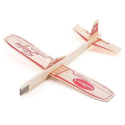 Starfire Balsa Wood Glider Plane: Toys & Games