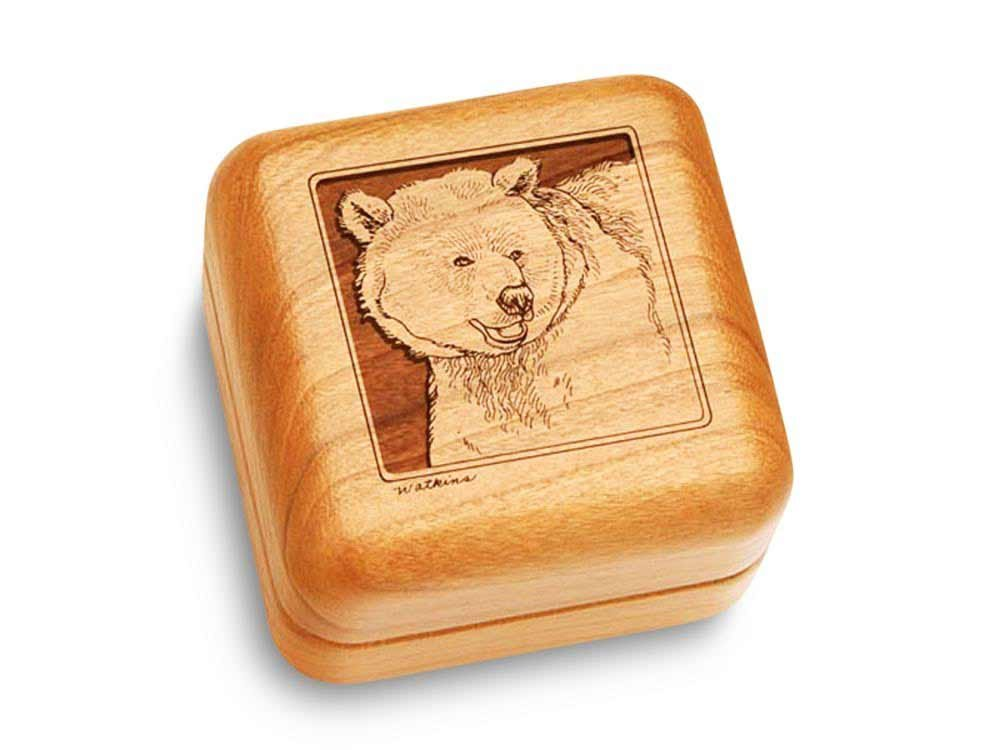 Music Box 2 1/2'' Square - Grizzly Bear - Claire de Lune