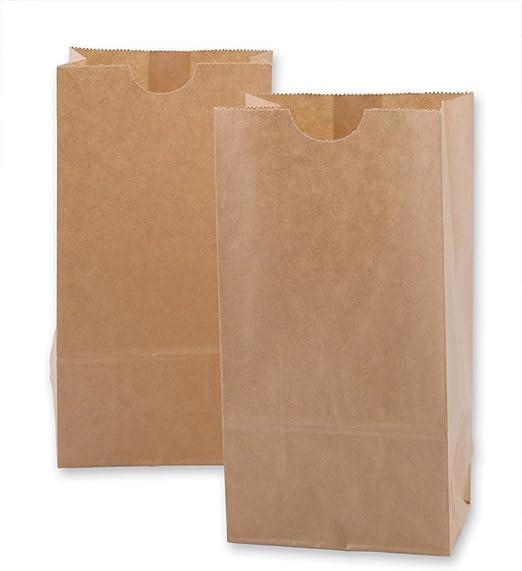 Amazon.com: Mini bolsas de papel kraft 100 por paquete ...