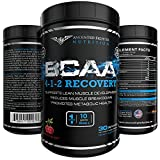 AFN BCAA Powder 4-1-2 Energy and Recovery 30 servings 10 Grams Per Serving Cherry Blast