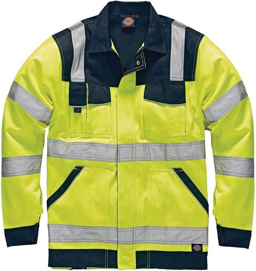 XXL Dickies IN Hi-Vis Bundjacke warnfarbe SA30015 gelb