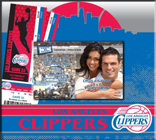 Los Angeles Clippers Photograph (NBA Los Angeles Clippers Ticket and Photo Album Scrapbook,)