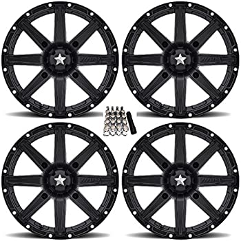 Amazon Com Msa M33 Clutch Utv Wheelsrims Black 15 Polaris Rzr