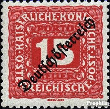 Prophila Collection Austria Michel.-No..: p66 1919 Los Sellos de Correos (Sellos para los coleccionistas): Amazon.es: Juguetes y juegos