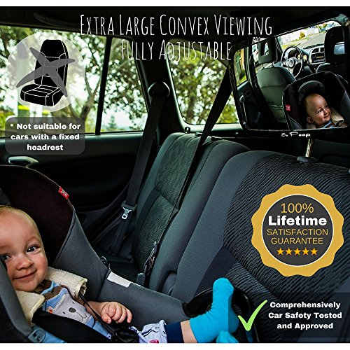 Review Baby Backseat Mirror for