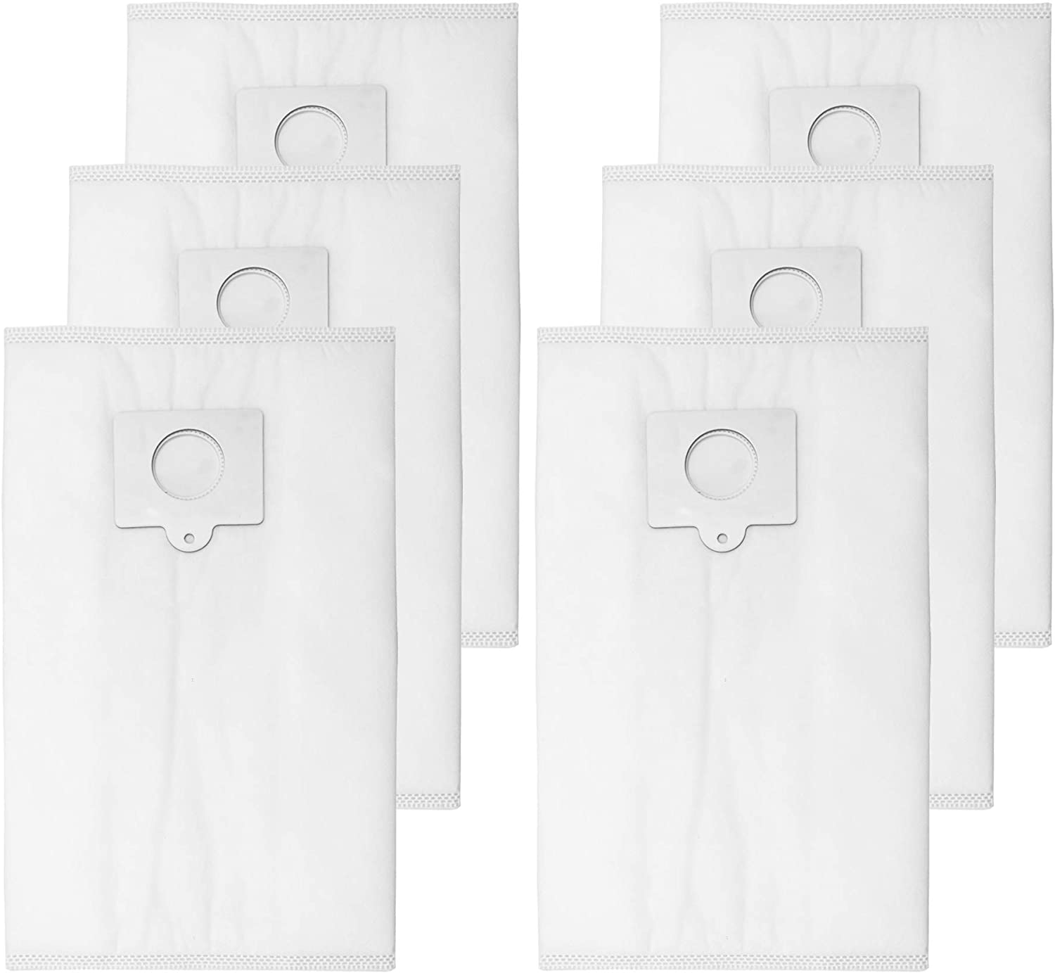 Reinlichkeit 6 Pack Canister Vacuum Bags for Kenmore and Sears Style Q/C Bags for Canister Vacuum Cleaners. Also Fits Kenmore 5055, 50557, 50558. Part Number 20-53292.