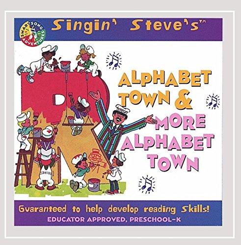 Alphabet Town & More Alphabet Town (Learn Alphabet Cd)