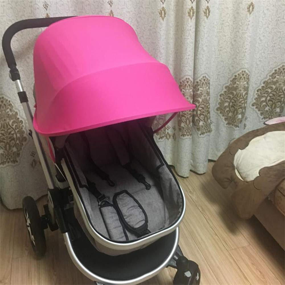 ITODAUS Baby Stroller Sunshade Car Seat Sun Shade Cover Awning UPF50+ Anti-UV Waterproof Windproof Umbrella Canopy Universal Bassinet Playpen Crib Stroller Visiblity Air Permeability Design by ITODAUS