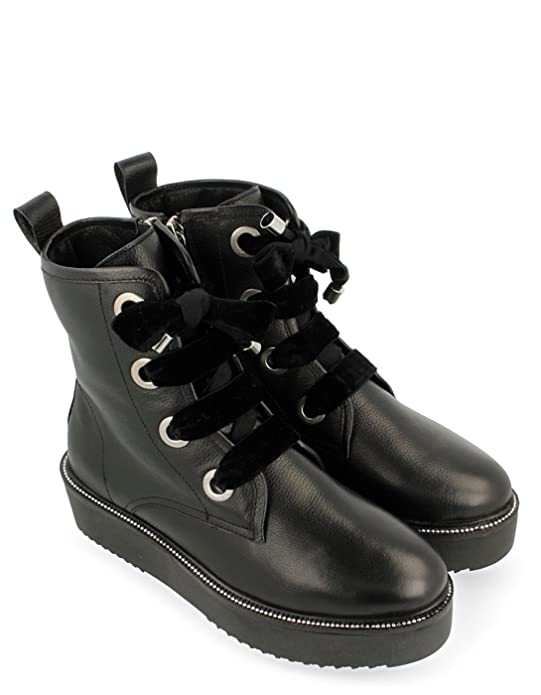 Leather Laces Black By Gioseppo Chaussures 35 Booty AzqZnxv