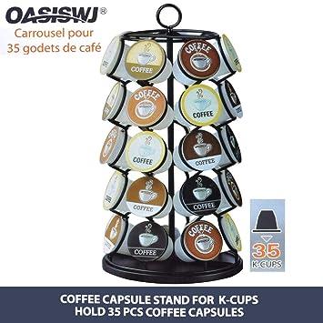Las cápsulas de café y los soportes para cápsulas de café están disponibles en una variedad
