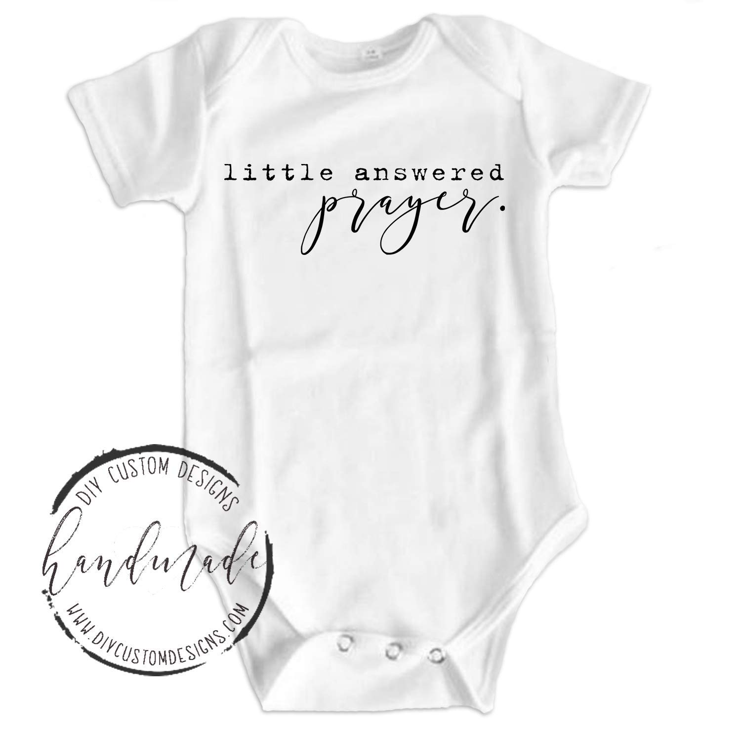 Baby Bodysuit Coming Home Outfit Little Answered Prayer Baby Onesies/®