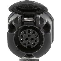 HELLA 8JB 005 949-001 stopcontact - 12V - 13-polig - stekker: schroefcontact - zwart