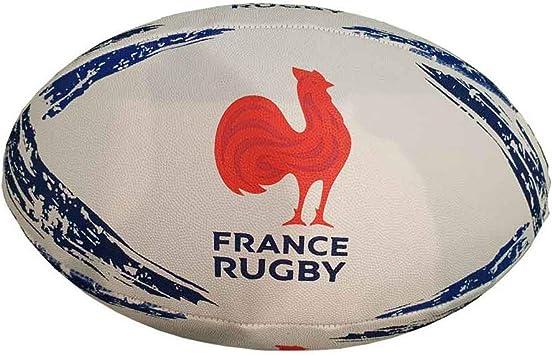 Gilbert - Balón de Rugby de Francia (Talla 5), Color Multicolor ...