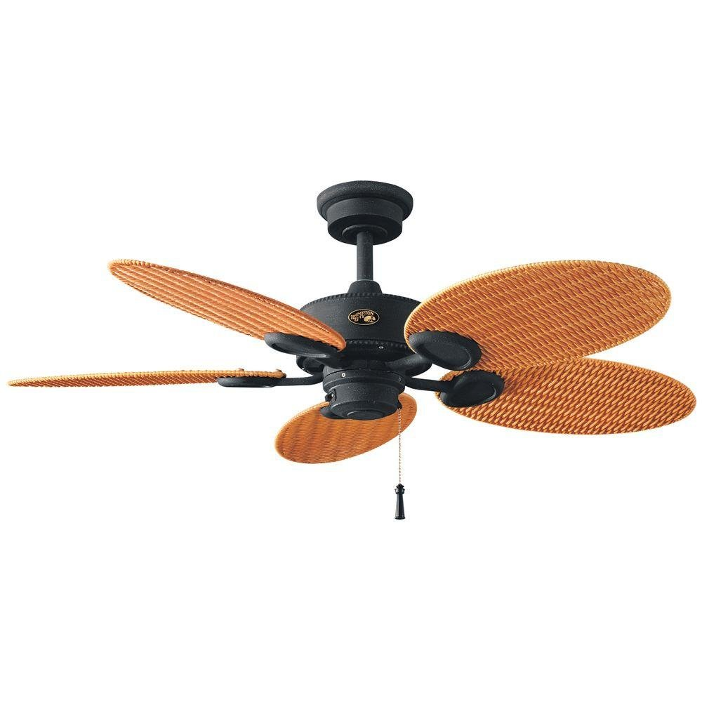Hampton Bay Palm Beach 48 In Indoor Outdoor Gilded Iron Ceiling Fan Ca Electronics
