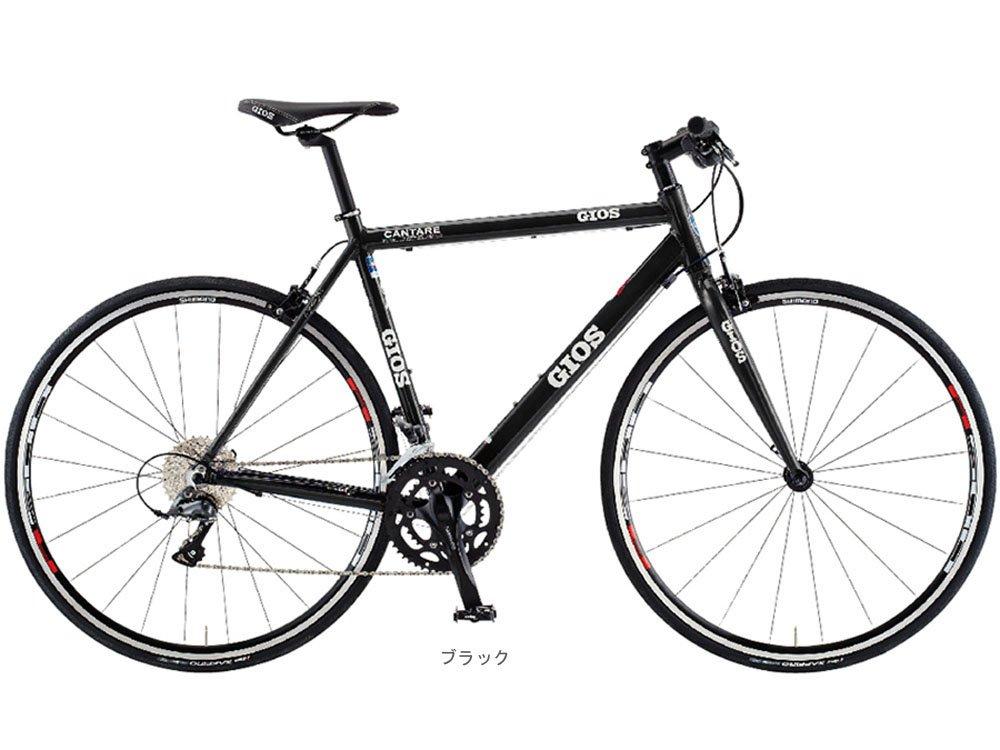 GIOS(ジオス) 2018 CANTARE カンターレ CLARIS(2x8速)クロスバイク700C <ブラック> B078N39M1W500mm