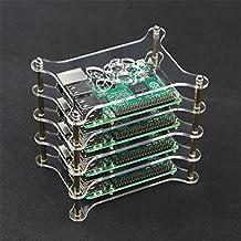 SHCHV Raspberry Pi 3 / 2 Model B / B+ 4-Layer Acrylic Case