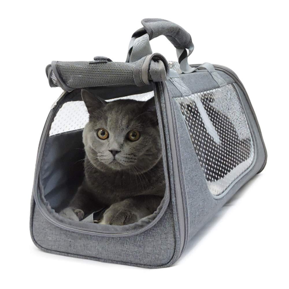 punto vendita Xiao Mi Guo Ji Ji Ji Borsa da viaggio per animali domestici, borsa per gatti con sacchetto per cani, facile da pulire, sicura e portatile, dispositivo per animali domestici, ventilazione, design confortevol  a prezzi accessibili