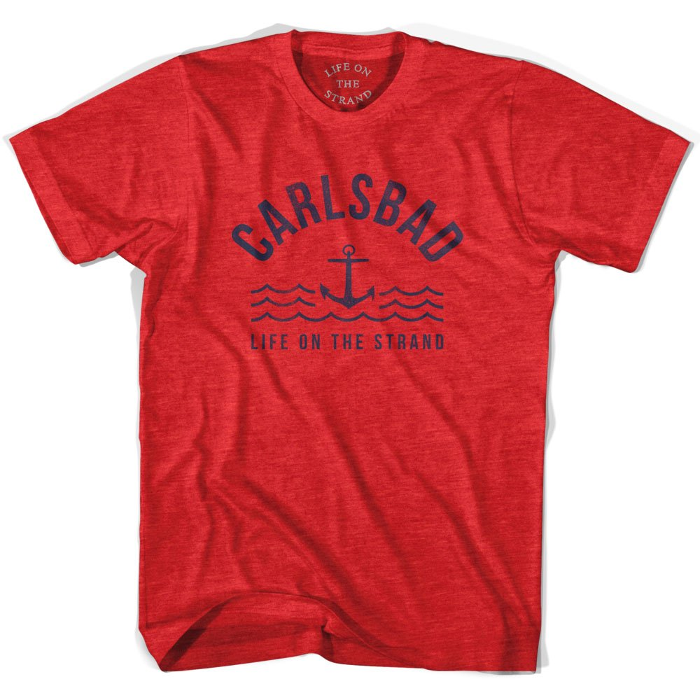 Carlsbad Anchor Life on the Strand T-shirt