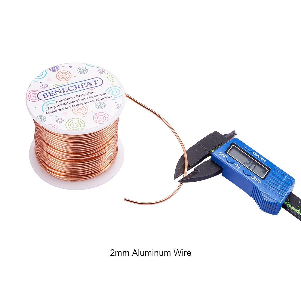 Amazon.de: BENECREAT 12 17 18 Gauge 100 FT Aluminium Draht ...