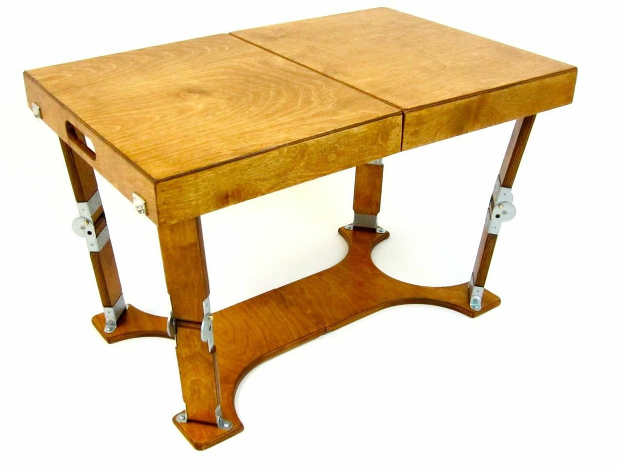 Superb Amazon.com: Spiderlegs Folding Coffee Table, 28 Inch, Warm Oak: Kitchen U0026  Dining