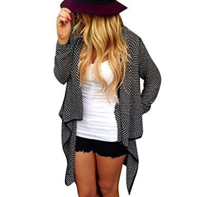 Fedi Apparel Womens Oversized Knitted Sweater Cardigan Open Front Coat Outwear