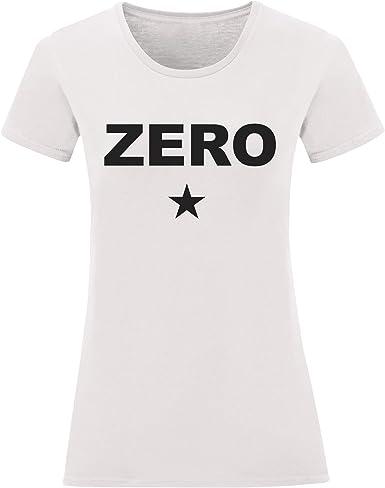 LaMAGLIERIA Camiseta Mujer Zero - Camiseta Smashing Pumpkins 100 ...