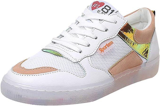 Zapatillas para Mujer Malla Casual para Mujer Zapatos Nuevas ...