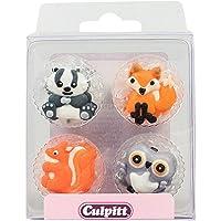 Unbekannt Culpitt 12 Figuras de azúcar Animales del Bosque