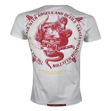 0fab5194a8e Yakuza Premium Men s T-Shirt White white  Amazon.co.uk  Clothing