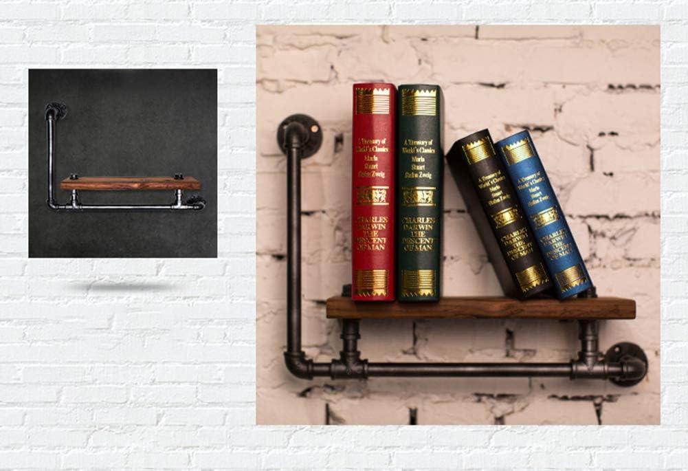 American Country Style Schweberegale Vintage industrielle Wandregal Industrial regal Pipe Display Rack Retro Iron Wandmontage B/ücherregal Rohr Regale Vintage Shelves Regale f/ür die Wand