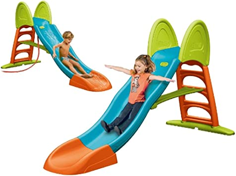 FEBER - Tobogán Super Mega Slide con Agua (Famosa 800009594)