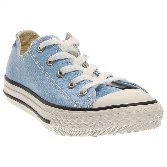 a6a6ab6a8099 Amazon.com  Converse CT All Star OX Fashion Sneaker Shoe - Blue Sky - Kids  - 12  Shoes