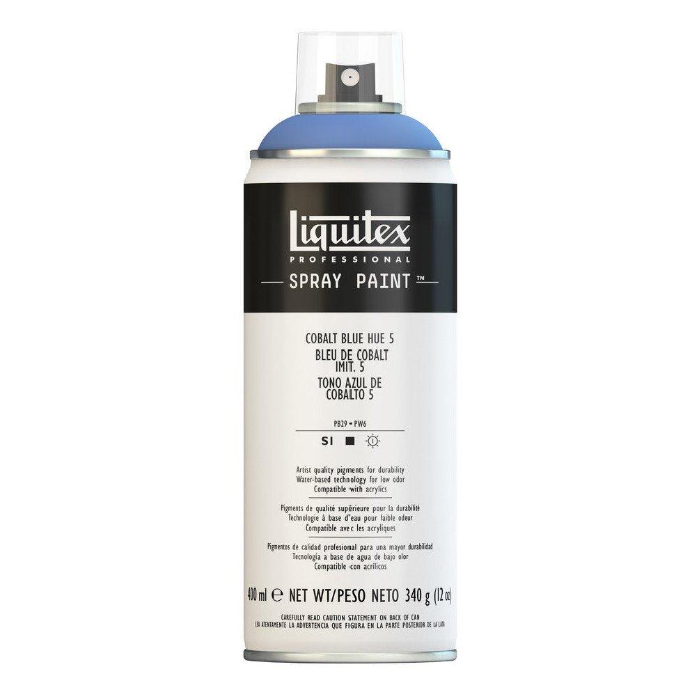 Liquitex プロフェッショナル スプレーペイント 12オンス ブルー 4455381 B008N7HBP4 Cobalt Blue Hue 5 Cobalt Blue Hue 5