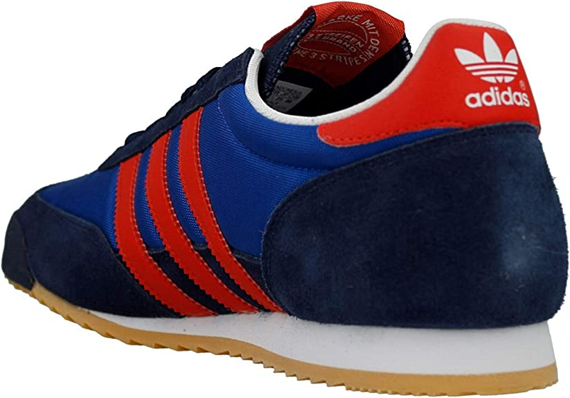Adidas Dragon - B44295 - Color Navy Blue-Blue-Red - Size: 9.0 ...