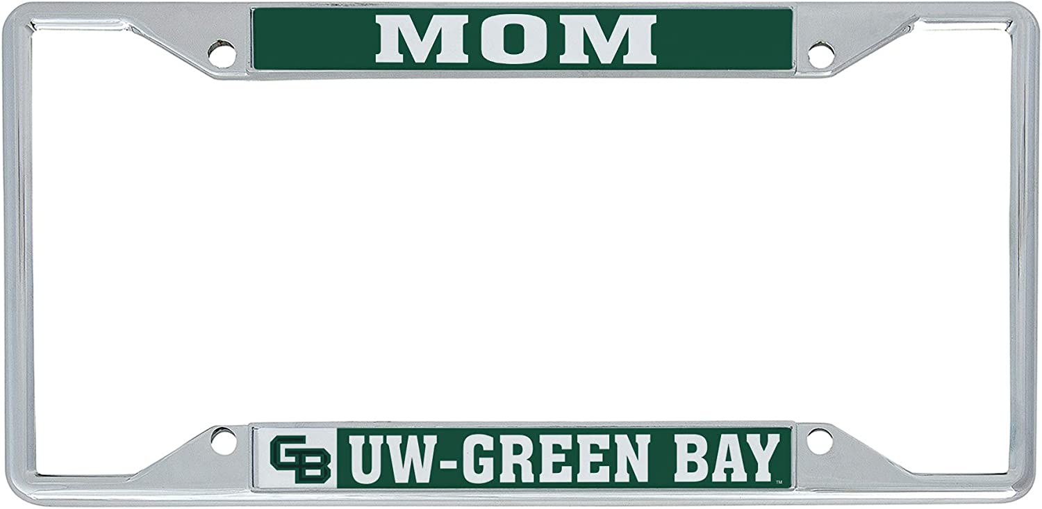 Alumni Desert Cactus University of Wisconsin Parkside UWP Rangers NCAA Metal License Plate Frame for Front or Back of Car Officially Licensed