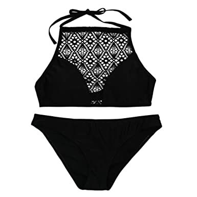 Auifor Frauen Sandstrand BH BH Sexy Bikini Badeanzug Set