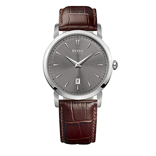 e1a7836f9fd3 Hugo Boss Hombre Analog Dress Quartz Reloj 1513090  Amazon.es  Relojes