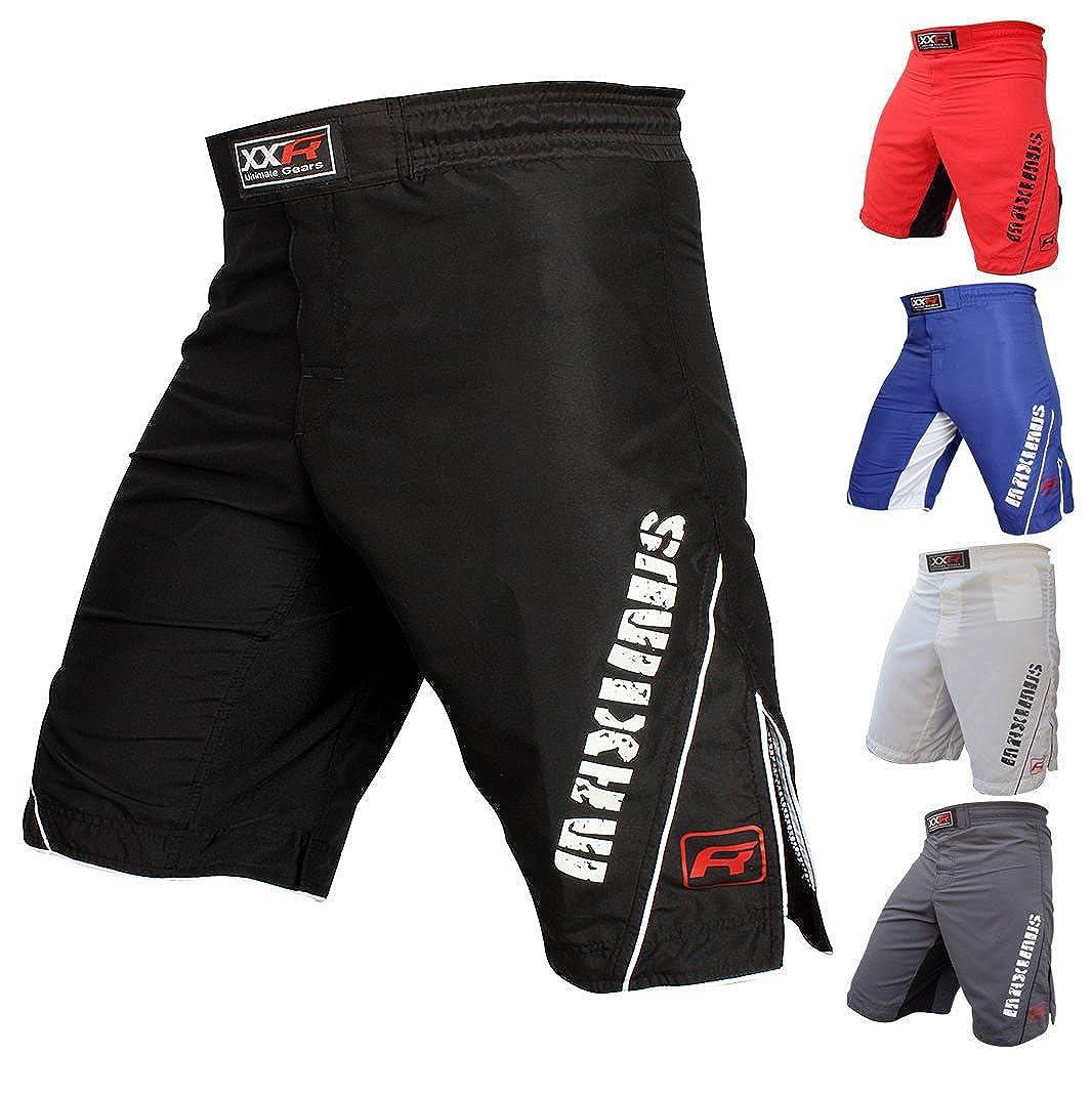 XXR Maximus MMA Fight Shorts UFC Cage Fight Grappling Muay Thai Boxing Martial Ar Clothing Uniform Kickboxing XL (36-38))