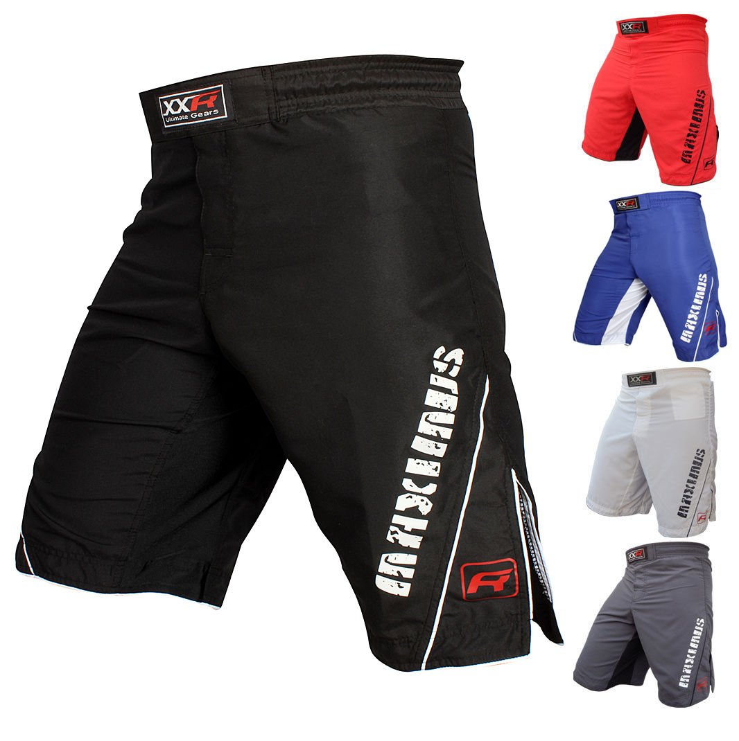 XXR MAXIMUS MMA Fight Shorts UFC Cage Fight Grappling Muay Thai Boxing Martial Ar Clothing Uniform Kickboxing RED