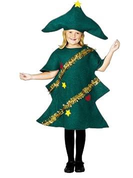 Fancy Ole - Unisex Infantil Disfraz Navidad Árbol de árbol de ...