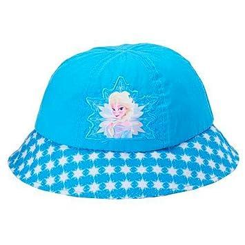 Amazon.com  Little Girls Elsa Sun Hat (2T-5T)  Baby 967b26f709c
