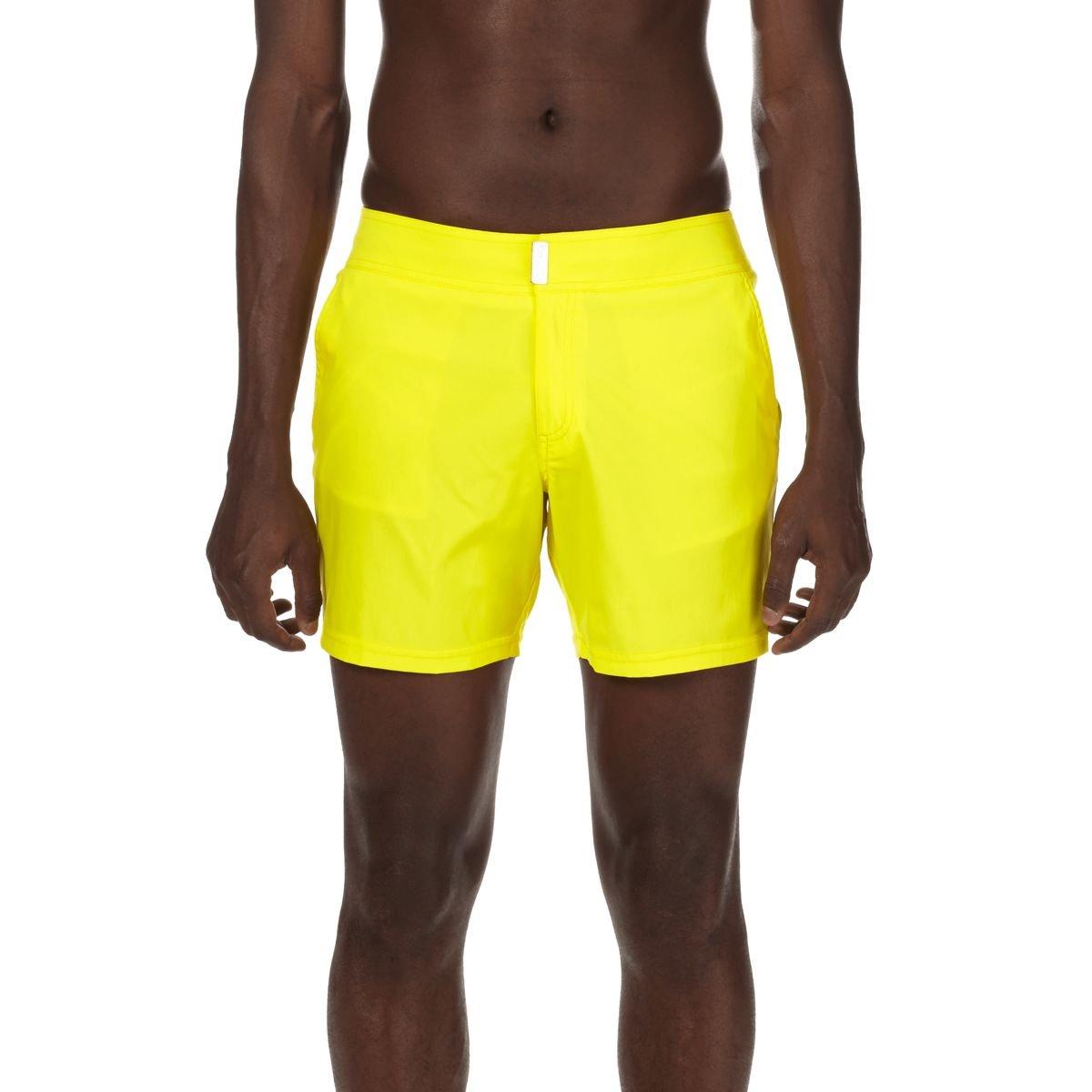 Lemon 3XL Vilebrequin Men's Swim Trunks