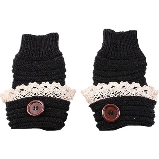 Natuworld Ladies Finger Lose Gloves Hand Warmers Half Fingers Warm