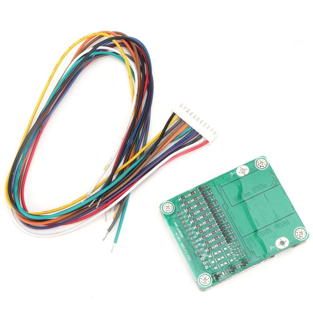 Battery Protection Board 10S 36V 35A Battery Protection Board BMS PC B with Balance for Electronic Components
