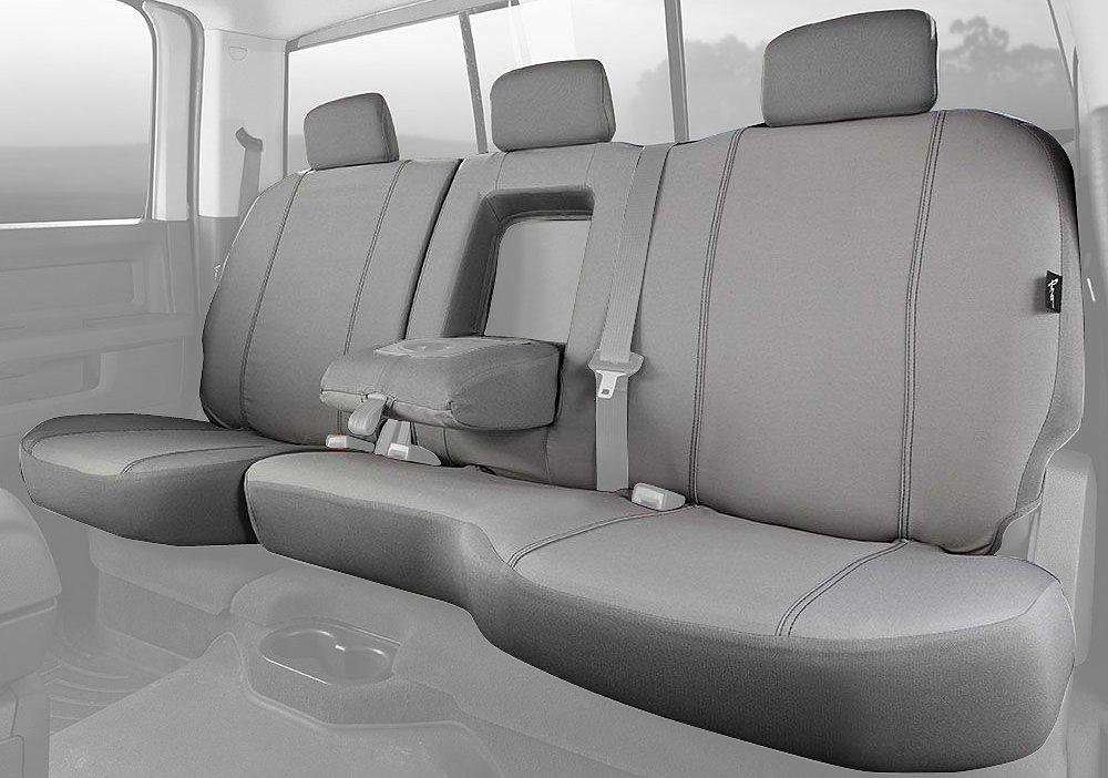 Fia SP88-30 BLACK Custom Fit Front Seat Cover Split Seat 40//20//40 Black Poly-Cotton,
