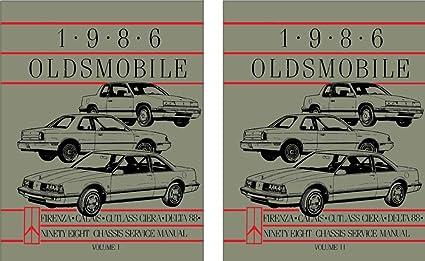 image unavailable  image not available for  color: bishko automotive  literature 1986 oldsmobile calais cutlass ciera